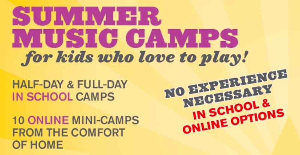 Online Summer Music Camps